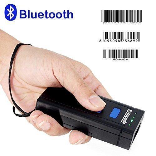 USB Bluetooth Barcode Scanner,Symcode 1D Mini Wireless