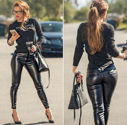 Skin Tight Hotties Leather Leatherloving
