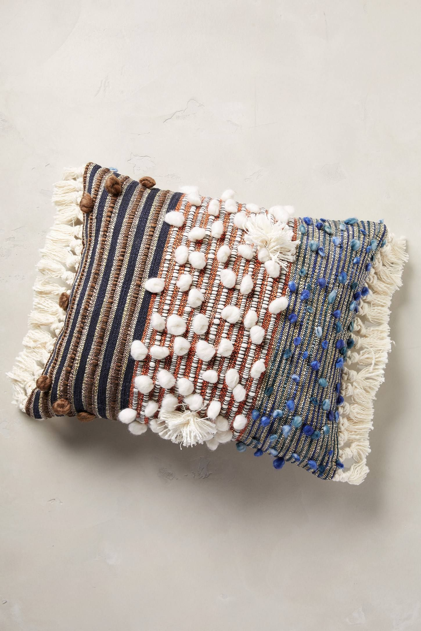 Collaged Majida Pillow Anthropologie and Pillows