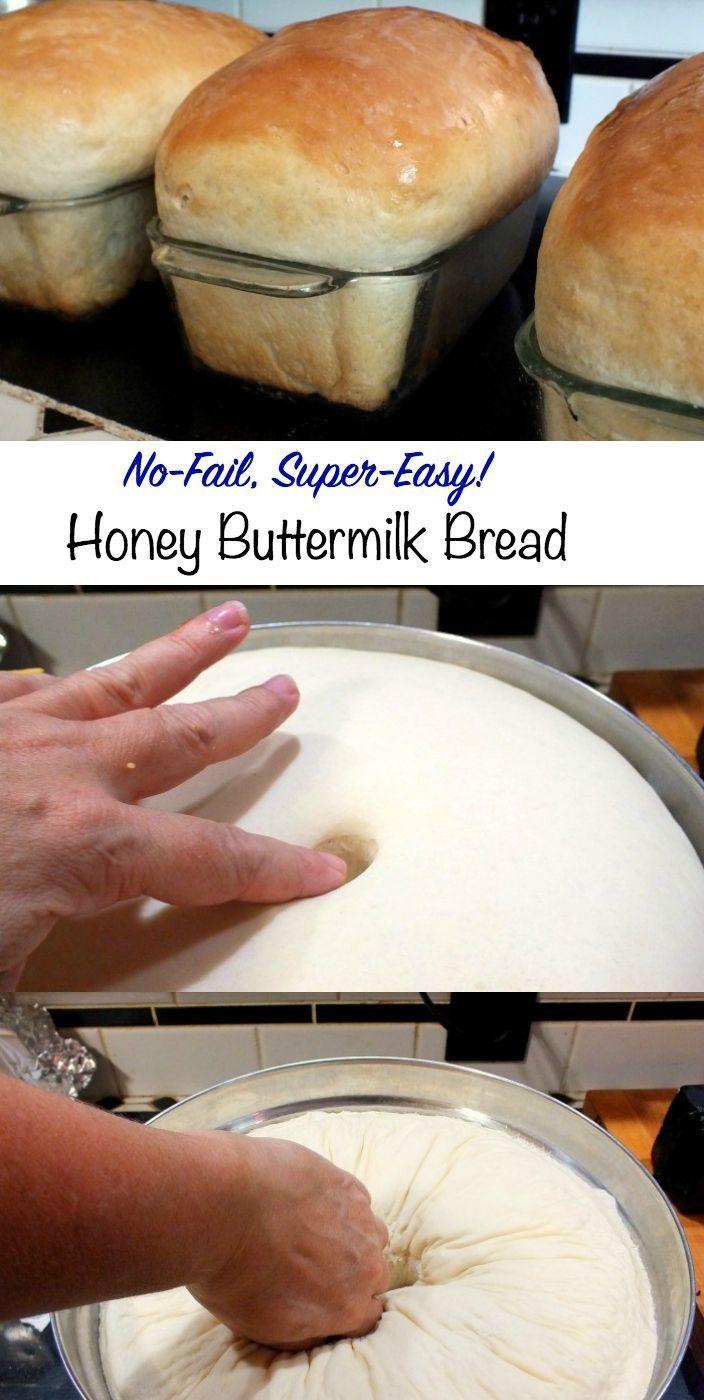 Honey Buttermilk Bread Recipe Honey Buttermilk Bread Buttermilk Bread Homemade Buttermilk