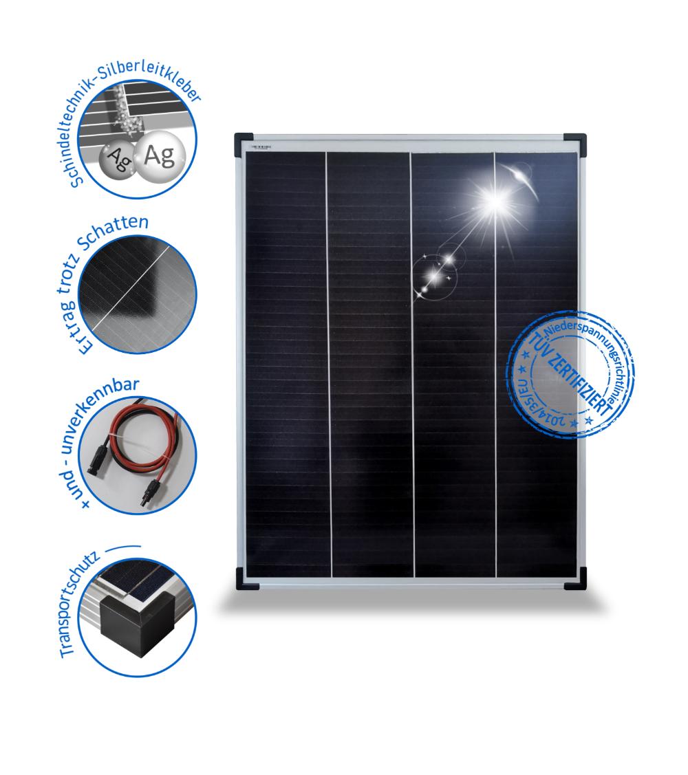 Solarmodul 100w Solarpanel 24v Monokristallin 72 Perc Solarzellen Schindel In 2020 Solarpanel Solar Stromschiene