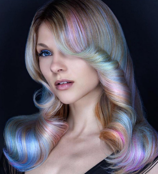 Want Subtle Unicorn Hair Opal Hair Is The Trend For You Colorful