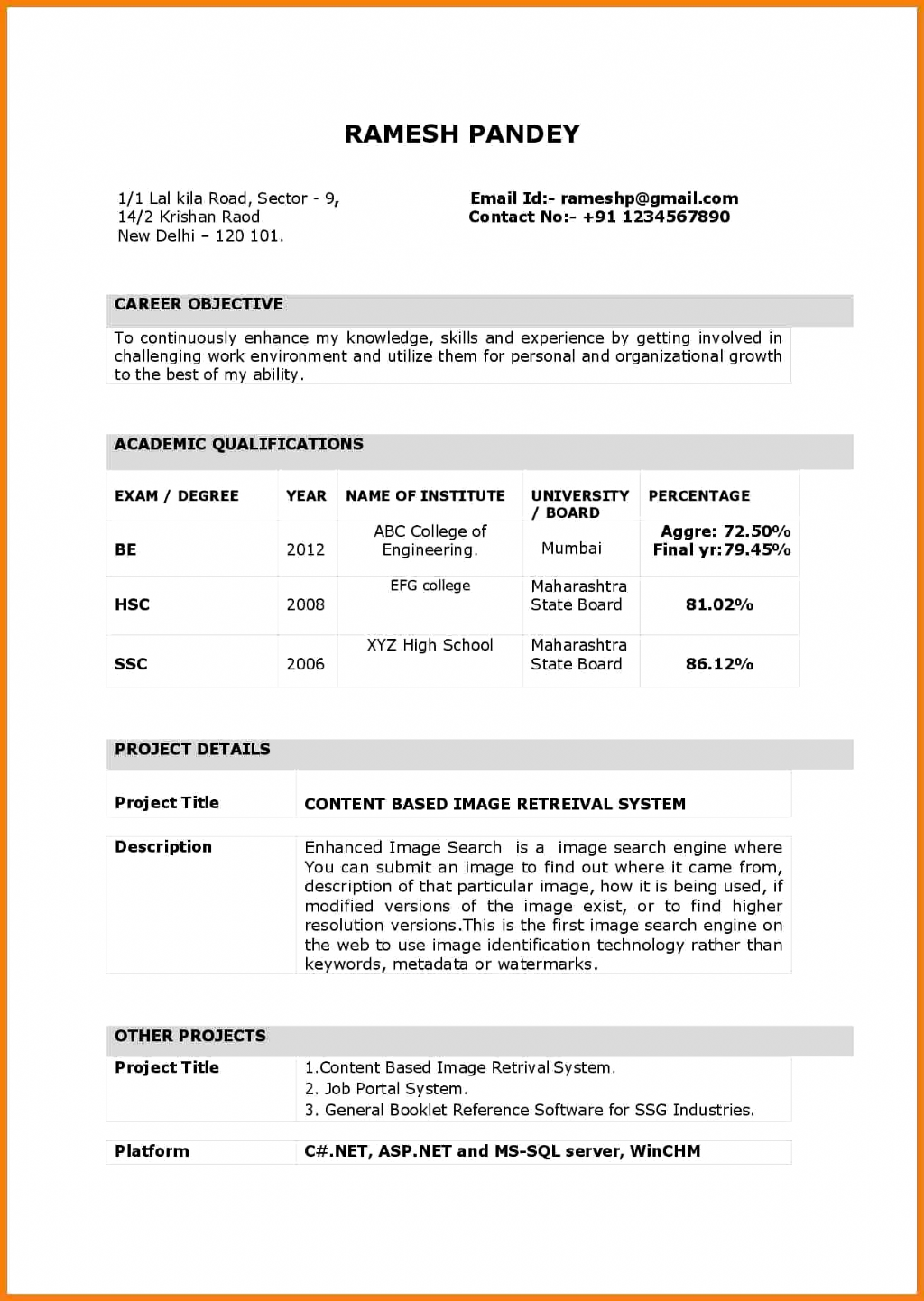 Resume Word Format For Teaching Job Huroncountychamber Com