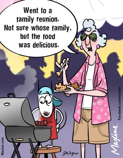 Funny Family Reunion Cartoons : funny, family, reunion, cartoons, Family, Reunion., Whose, Family,, Delicious., Maxine,, Funny, Cartoons, Jokes,, Reunion