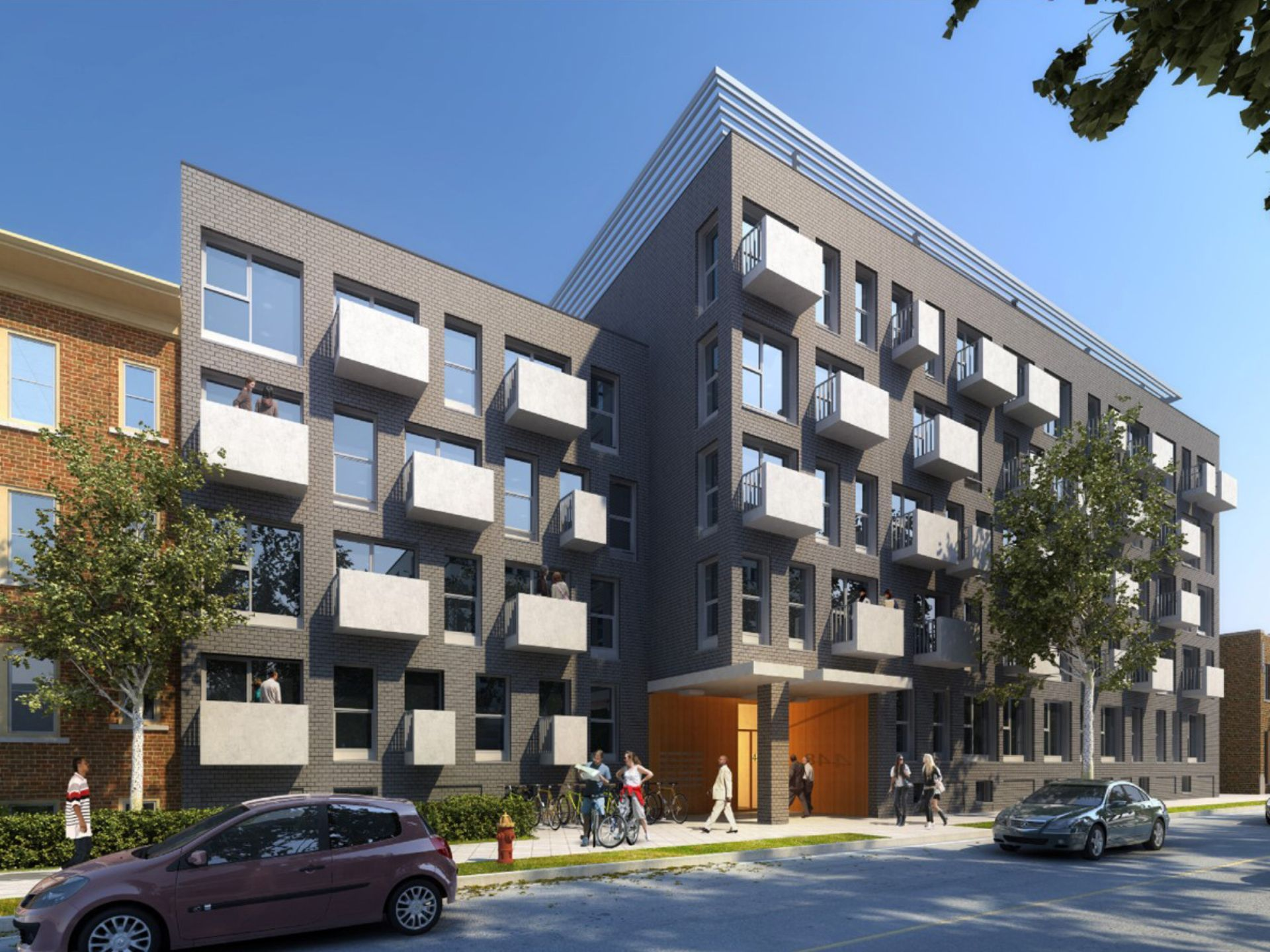 Wayne State University Housing Project Detroit Detroit