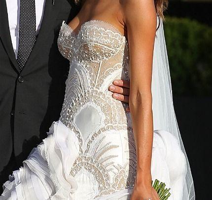 Wedding Dress Do or Don\'t: Sheer Panels   Geek wedding, Wedding ...
