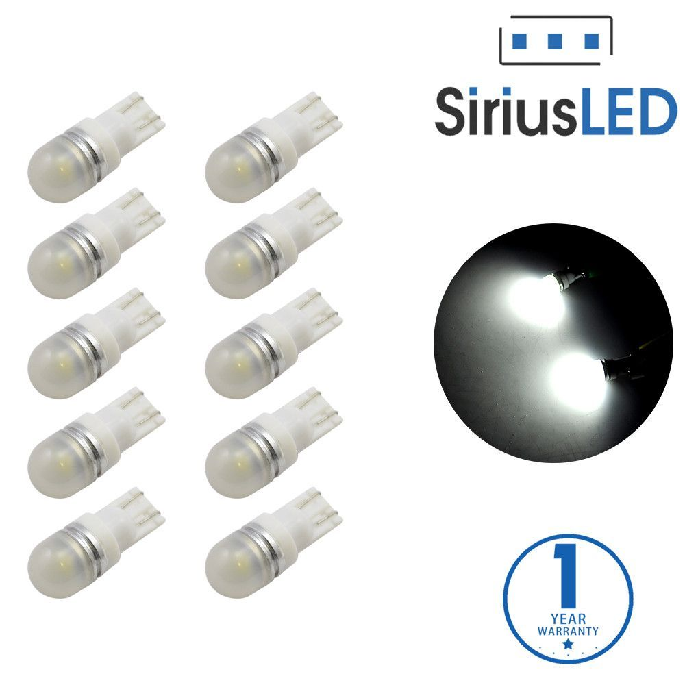 Pack of 6 LED Interior Lights-194 White | Products | Interior