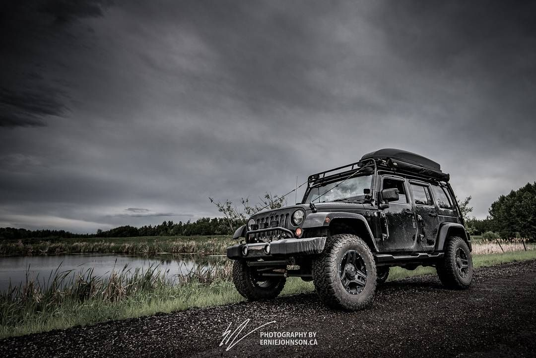 More Storm Chasing Adventures With The Jeep Throughout Alberta