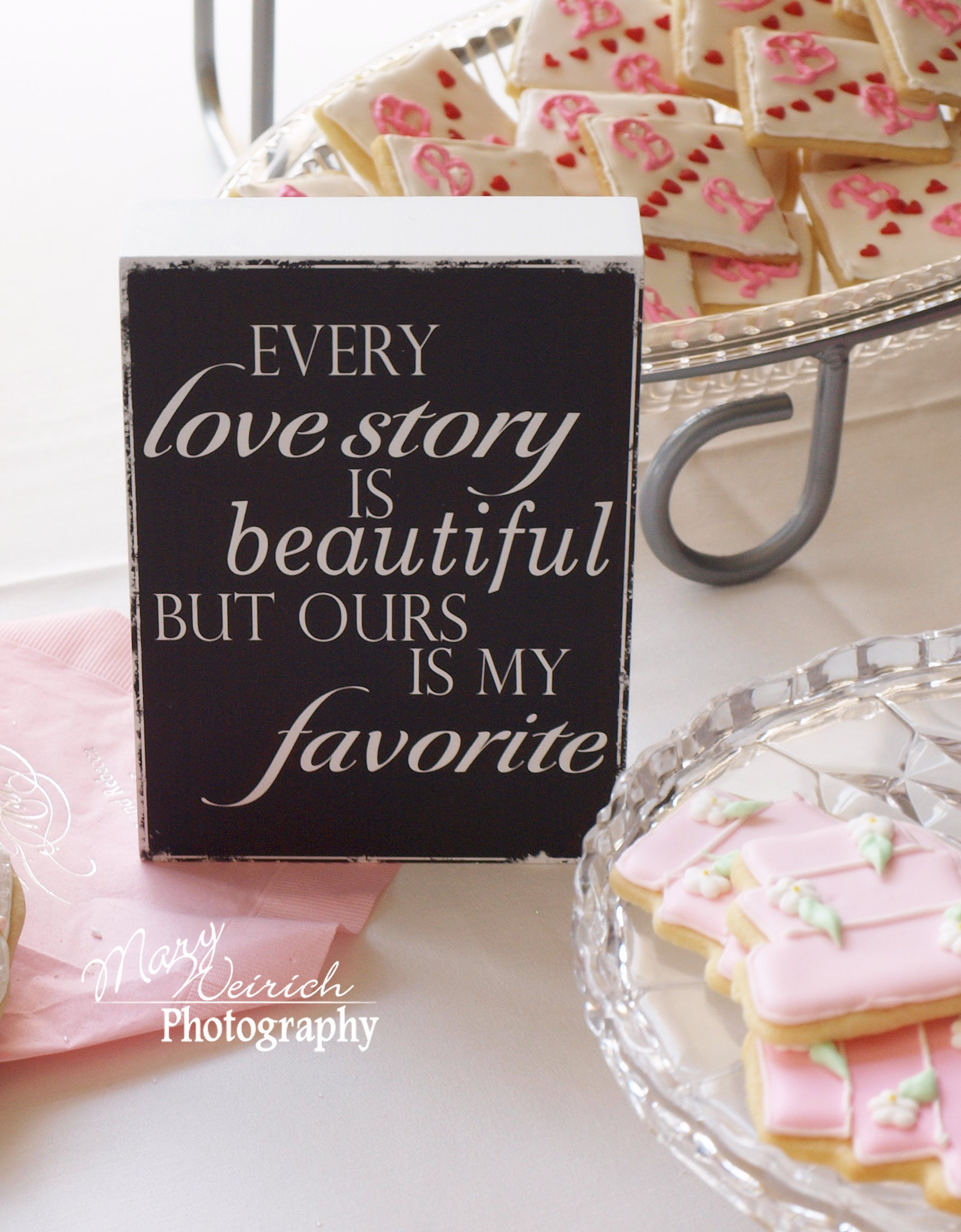 Wedding Photography Table Decoration Idea Wedding Cookies Mary Weirich Photography
