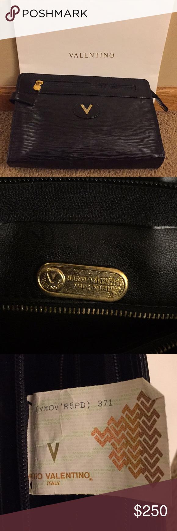 Authentic Mario Valentino Vintage Clutch Handbag Vintage Clutch Clutch Handbag Mario Valentino