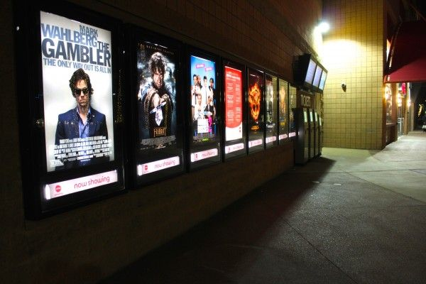 Several Movie Posters Are Placed On Display In Front Of The Valley Art Theatre Mill Avenue Jan 12 2015 Kat Simonovic State Press