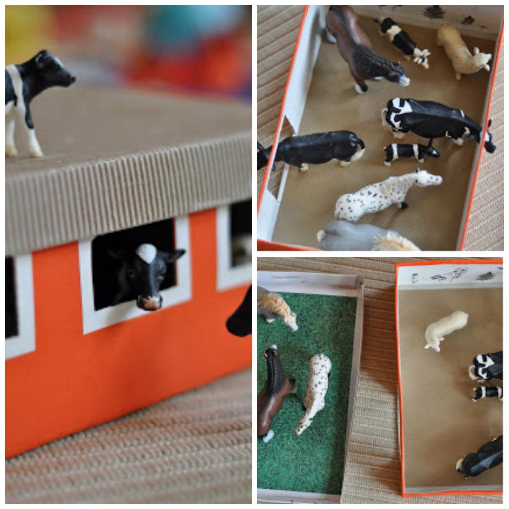 Manualidades con cajas de zapatos tijeras cartulinas - Manualidades con cajas ...