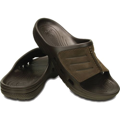 6cebef60d1458d Crocs Mens Yukon Mesa Slide Sandal Espresso And Espresso Easy on and ready  to go with