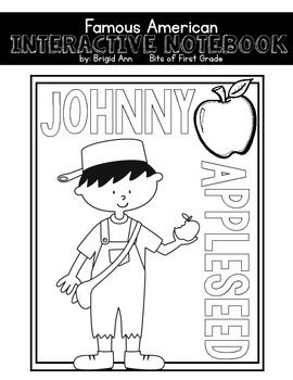 Johnny Appleseed Interactive Notebook (With images