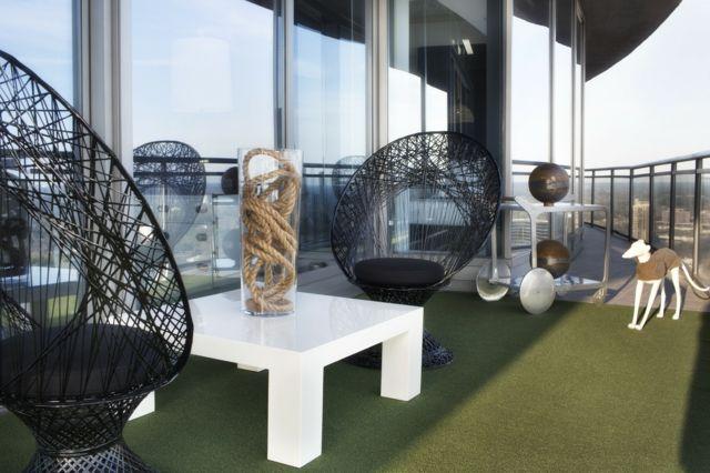 Terrassen » Möbel für Balkon \u2013 52 Einrichtung- und Deko Ideen für