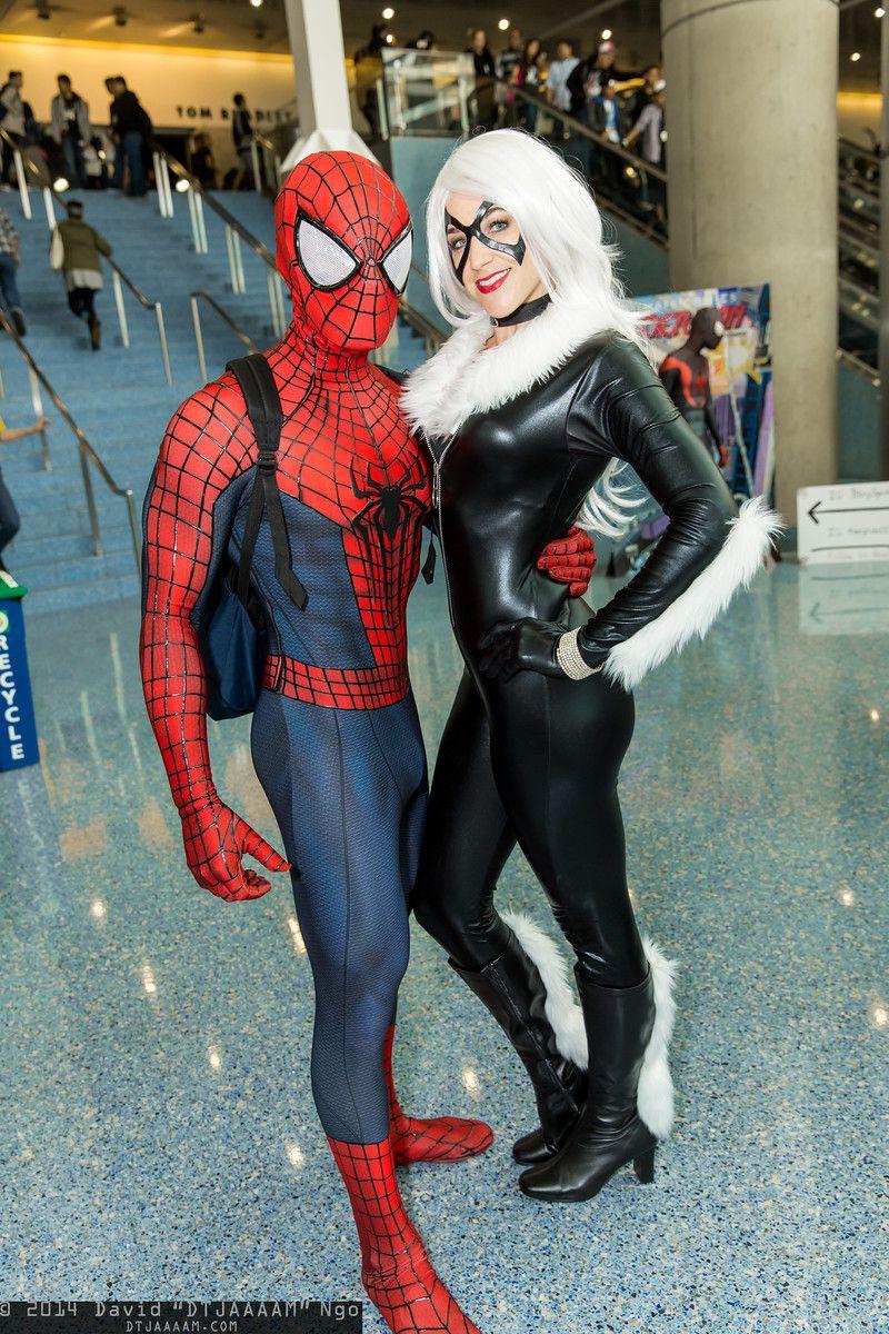 spiderman black cat costume - 736×1104