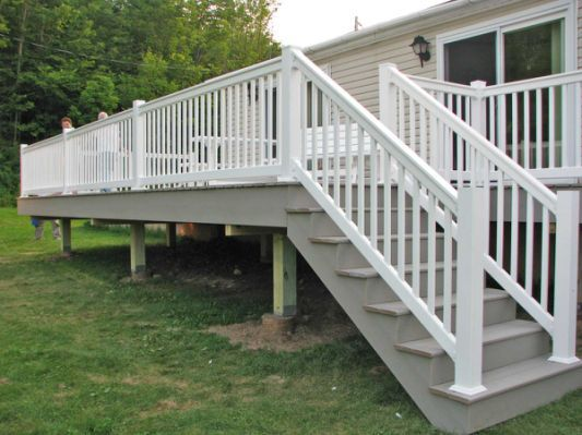 Best Vinyl Decking And Railing Installed By Poly Enterprises 400 x 300