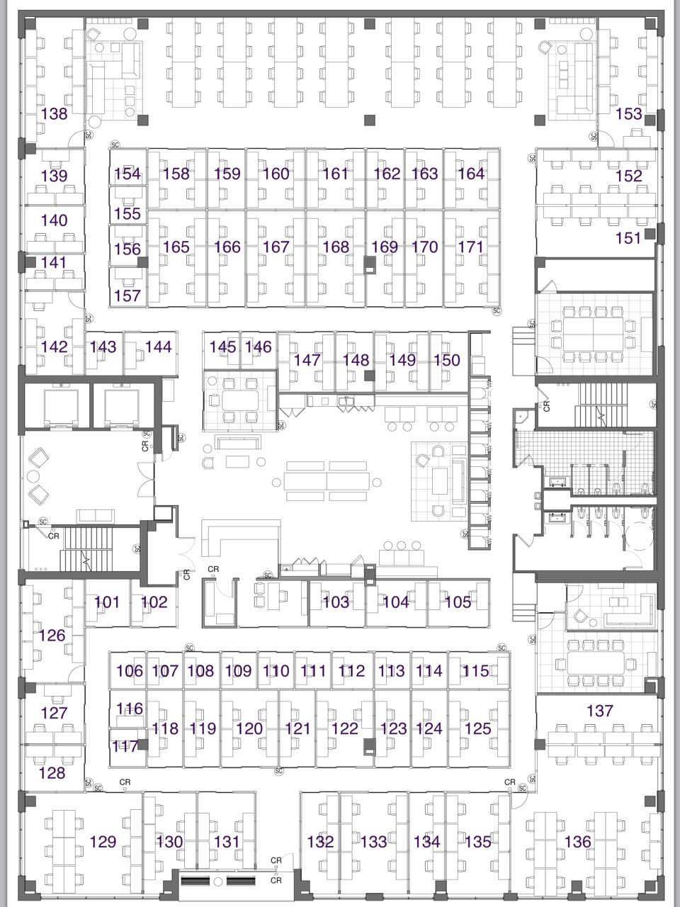 We Work Floor Plan  Google Search  Cvf Office