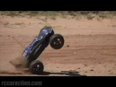 Traxxas E Revo In Action Youtube Rc Racing Rc Cars Rc Trucks