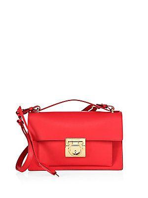 31559fc371 Salvatore Ferragamo Aileen Leather Crossbody Bag - Pamplona ...