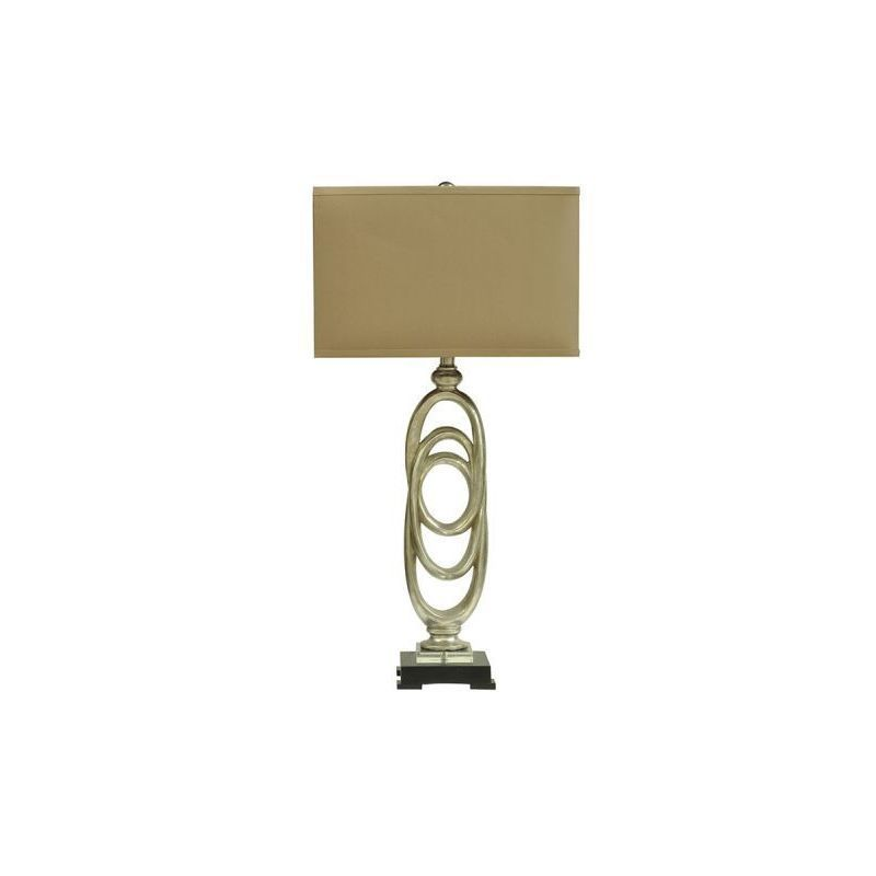 Cambridge Crestview Collection 35.5-inch Toasted Table Lamp