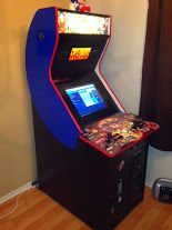 My home MAME Arcade  I added new t-molding and painted the sides