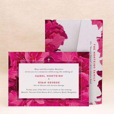 Floral Radiance Reception Floral Cards , E-Card Designs Buy Floral - rsvp e cards