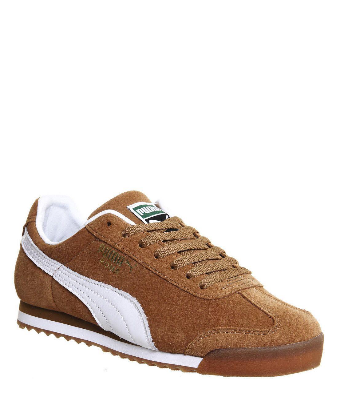 Puma Roma: Chestnut Brown. Men's ShoesMen's ...