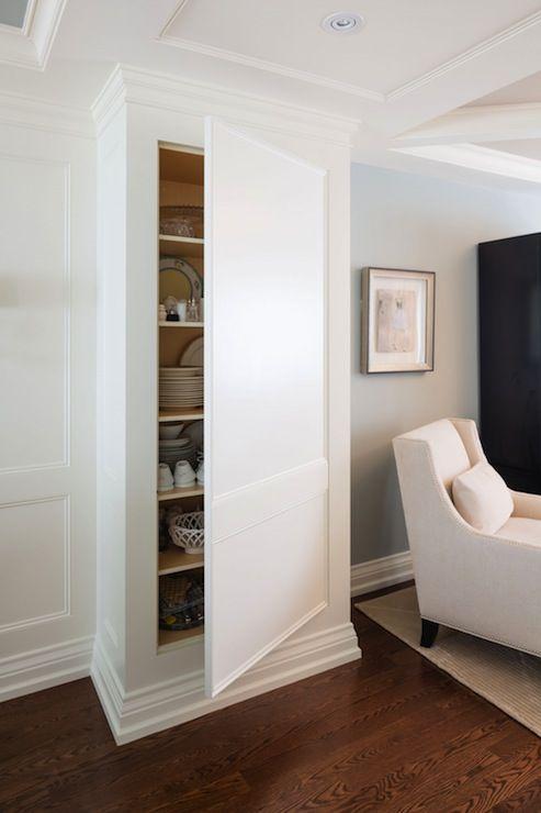 Wood Paneled Game Room: Hidden Cupboard, Hidden Cabinet
