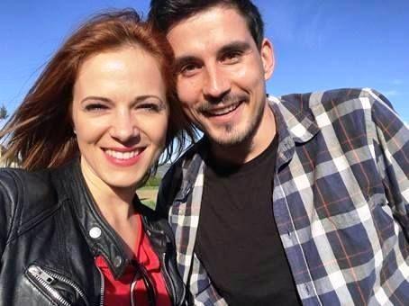 Pesem tedna: Nina Pušlar in Bojan Jambrošič - Odhajam z vetrom.