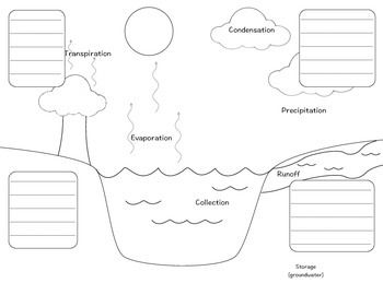 Image Result For Bill Nye The Water Cycle Worksheet