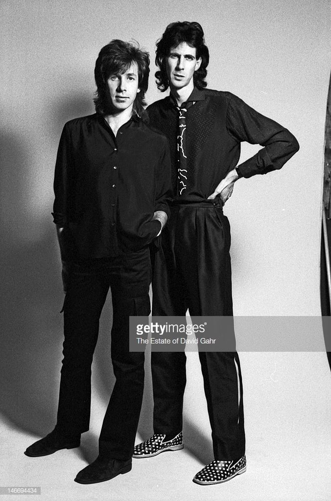 Singer, songwriter and producer Ric Ocasek and drummer David Robinson…