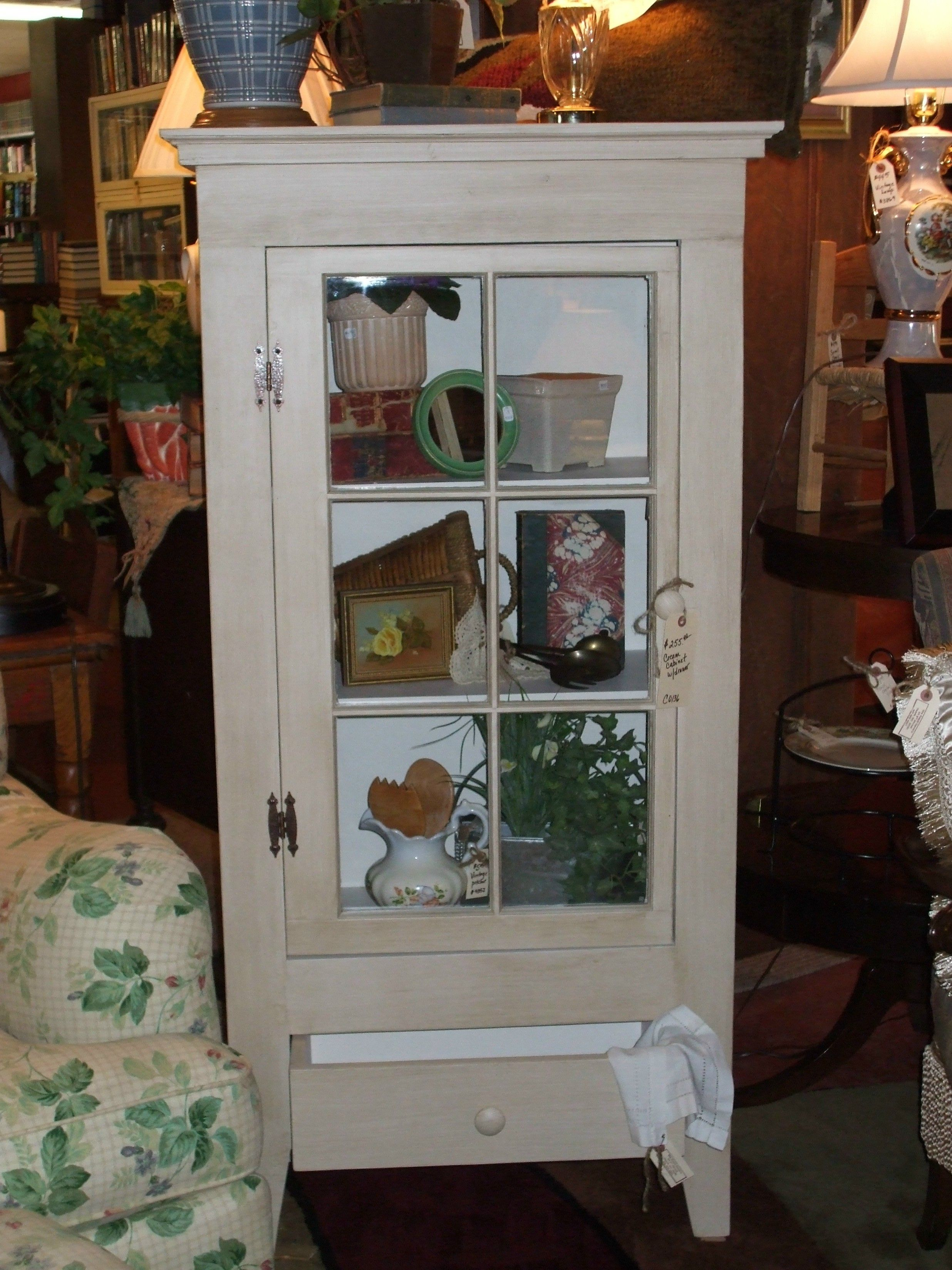 Single window cabinet with drawer. Country Cubbies and ...