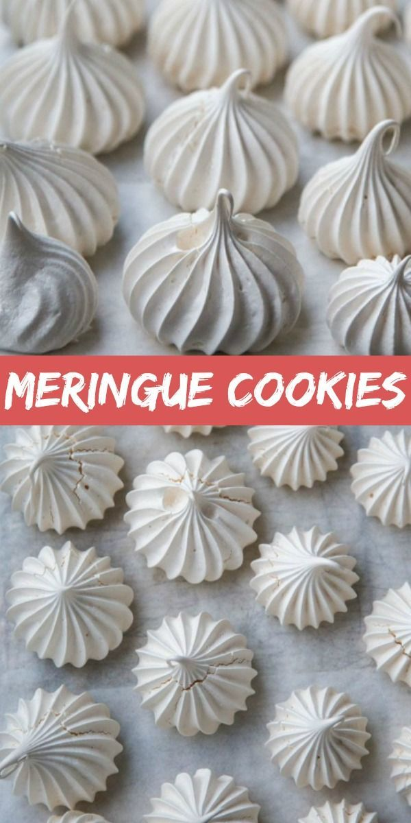 The Meringue Cookies are light, airy and can be served as a light little dessert, or built into many cakes and desserts. Follow the simple photo step by step instructions to learn how!