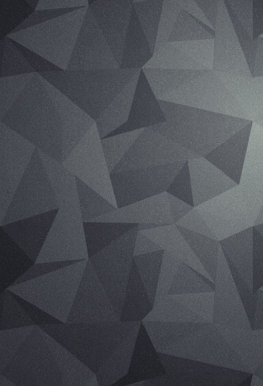 Geometric Grey Black Lock Screen And Wallpaper Background For IPhone 5S 5C Or Any Other IOS 7 Device
