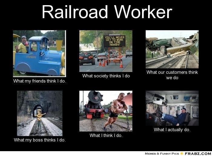 Pin By Amanda Mcgauley On My Weird Sense Of Humor Railroad Humor