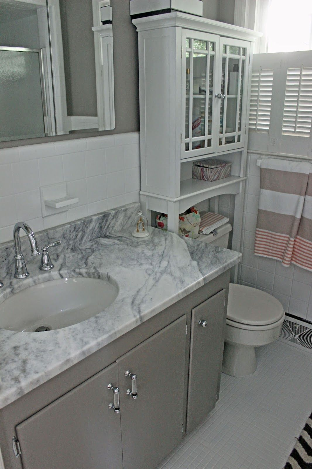 bathroom exactly like Durant - update ideas