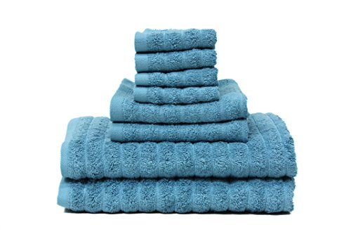 Towel Gift Set Trident CASA COPENHAGEN Exclusive Soft and Light 100/% Combed Cotton 400 GSM 4-Pieces Bright Green Bath /& Hand