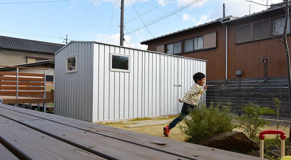 ユーロ物置ワークショップ4523wk2で暮らしを楽しもう 小屋 ユーロ物置 暮らし