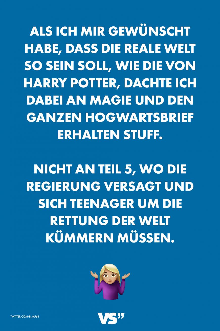 Real Life Magic World Deutsche Witze Zitate Aus Harry Potter Harry Potter Lustig