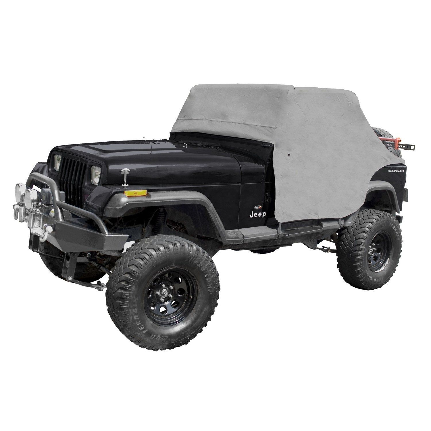 Cab Cover Gray By Rugged Ridge 87 91 Jeep Wrangler Yj Jeep Wrangler Yj Jeep Wrangler Jeep