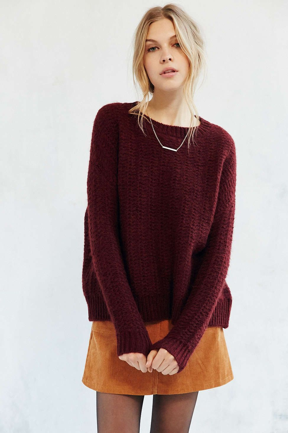 f3841a25d8 Love the baggier sweater look