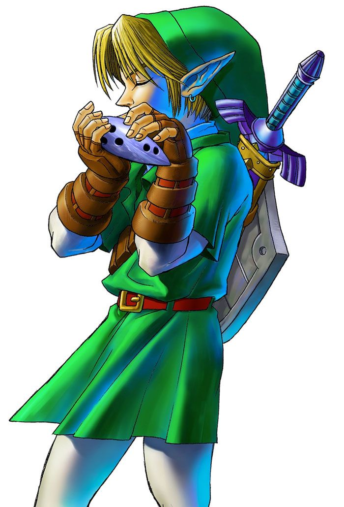 how to get the bow in ocarina of time