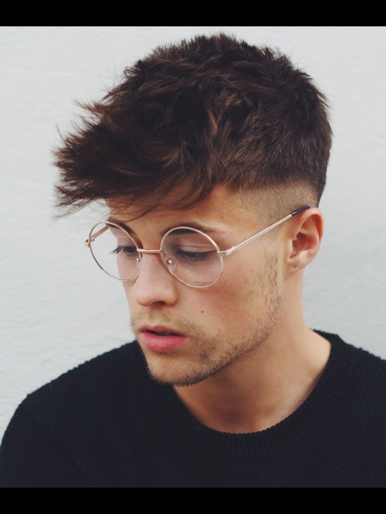 40 Hairstyles For Thick Hair Men's