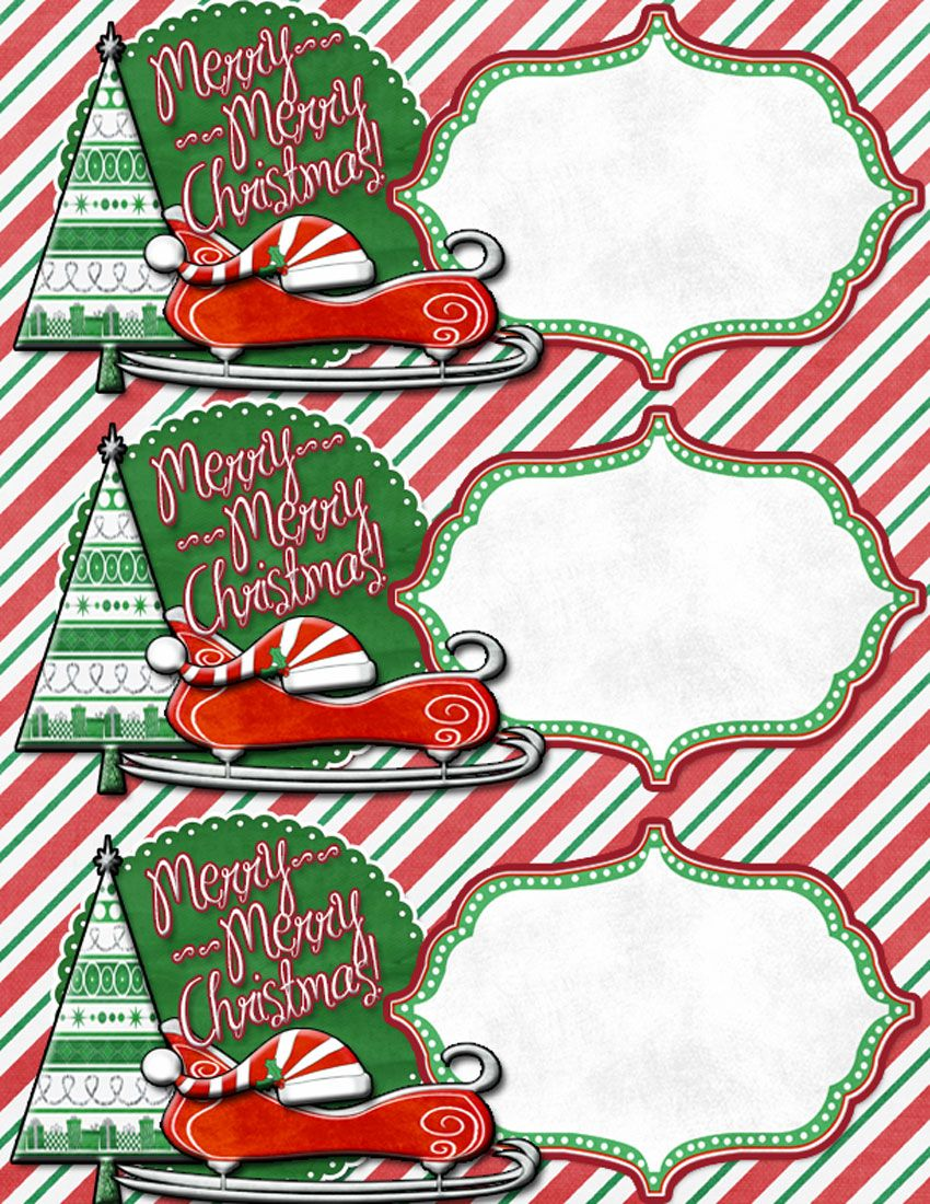 Large Gift Tags To Use On Friend Neighbor Gifts Free Printable