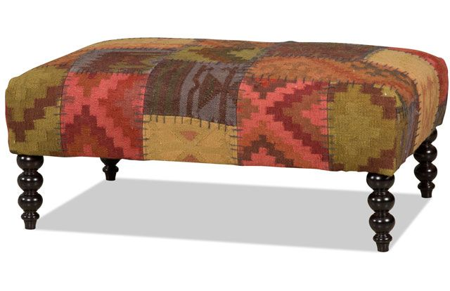 Mesa ottoman Bradington Young | Interior | Pinterest