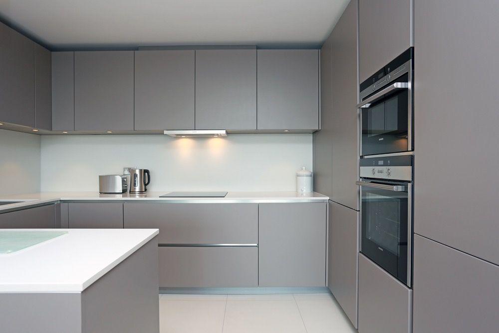 Best Matt Grey Handleless Kitchen Handleless Kitchen Diy 400 x 300