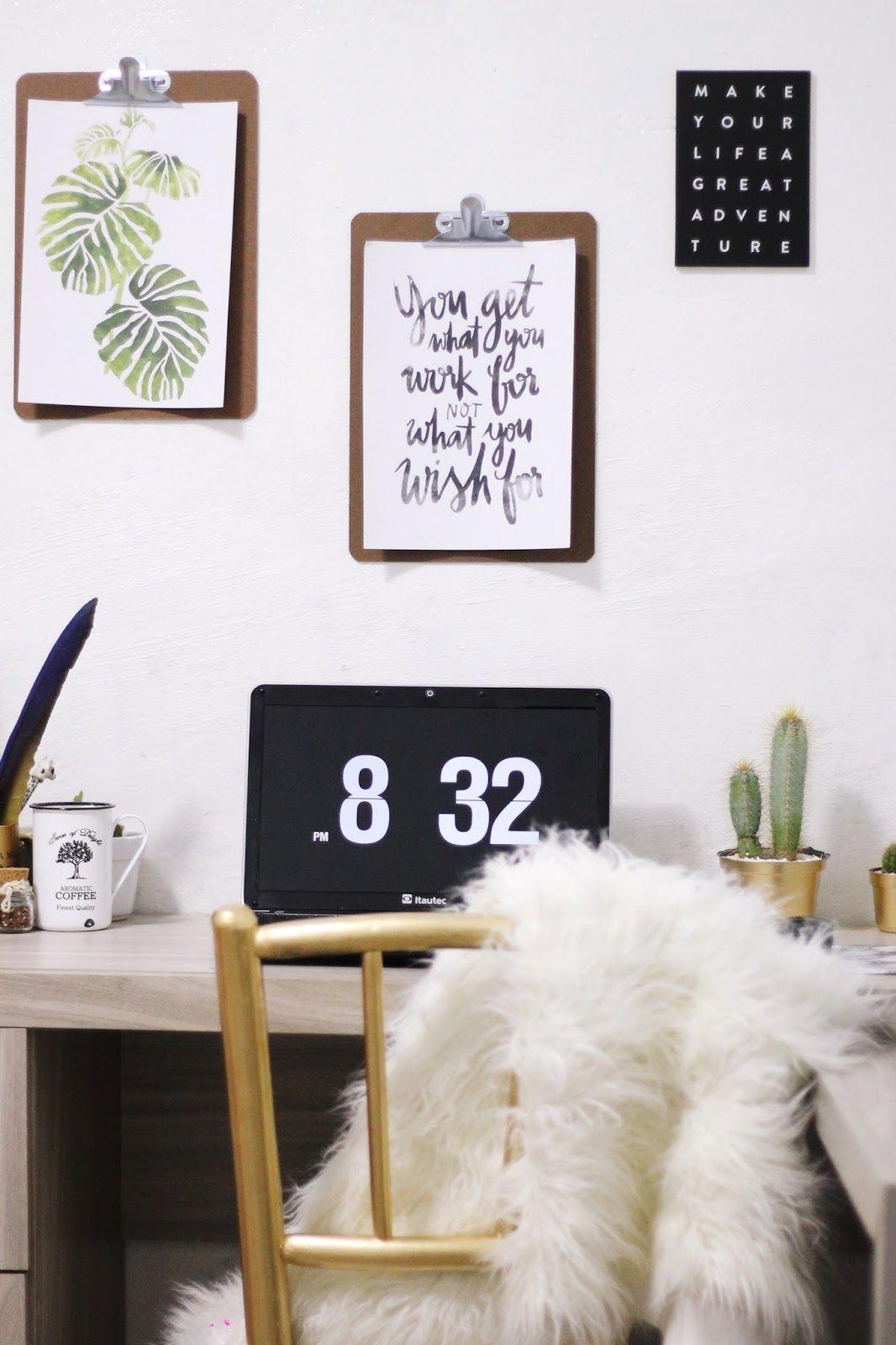 DIY Desk e Home Office