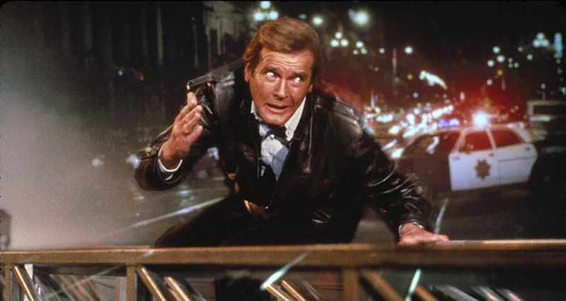 007 Roger Moore A View To A Kill Google Search James Bond