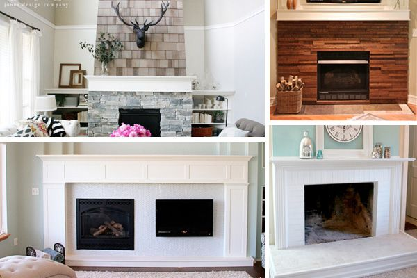 4 Value-Adding Fireplace Makeover Facelifts | Fireplace makeovers ...